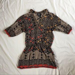 Angie size large tunic